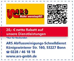 Gutschein ARS-Abflussreinigungs-Schnelldienst